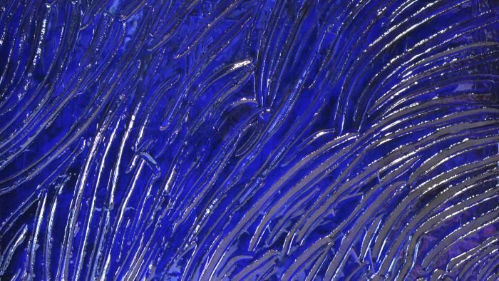 Blue Jungle Gild N°43 146X114Cm 2014